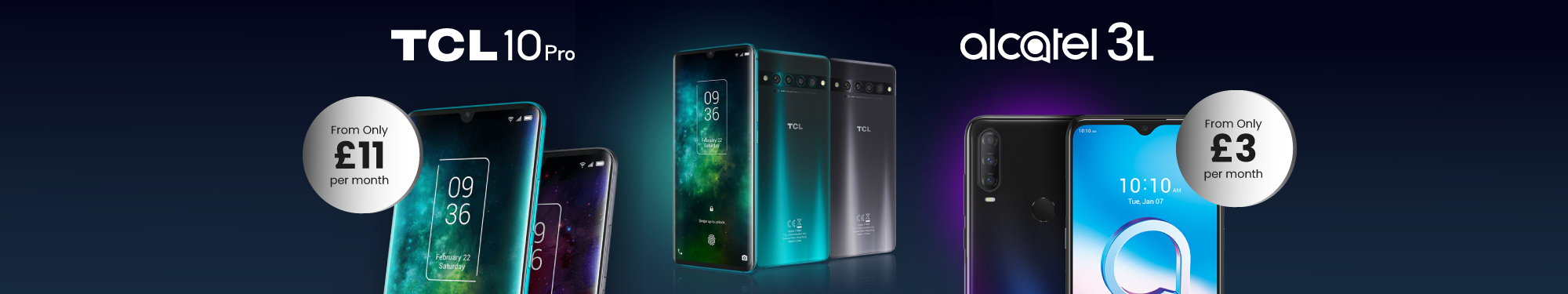 TCL Alcatel offer 2021